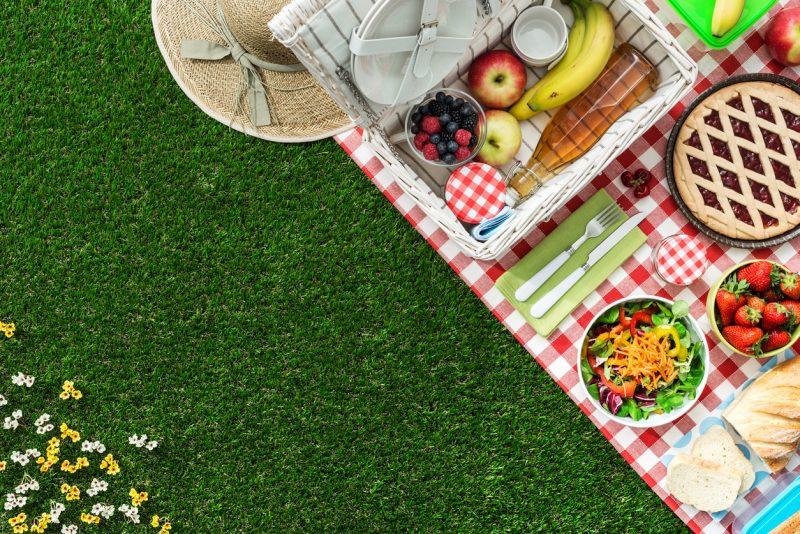 Receitas para um final de semana em família: como fazer um piquenique