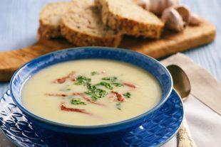 Super receita: sopa de mandioquinha