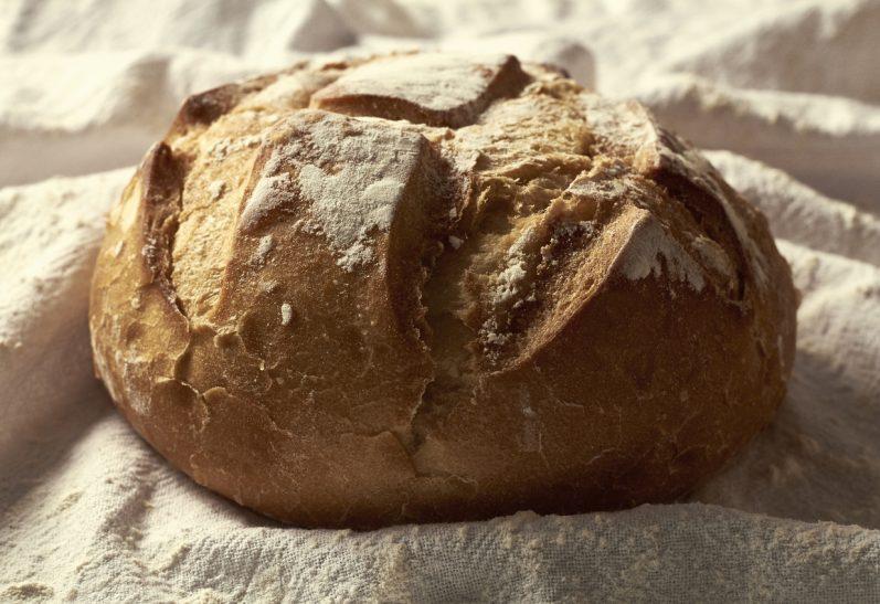 O sabor e tradição do pão rústico